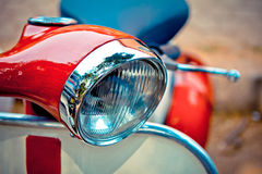 Vintage scooter Royalty Free Stock Image