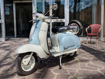 Vintage scooter Lambretta Royalty Free Stock Photo