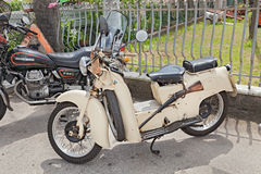 Vintage scooter Moto Guzzi Galletto Royalty Free Stock Images