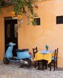 Vintage scooter in Rhodes