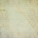 Vintage scrap paper template. Polka dot background Stock Photo