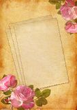 Vintage scrapbook background Royalty Free Stock Images