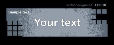 Vintage scratched metal banner, background with the text, grunge style. Vintage scratched metal banner, background with the text, grunge style, Vector vector illustration