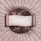 Vintage Scroll Royalty Free Stock Images