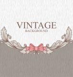 Vintage scroll pattern Royalty Free Stock Image