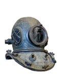 Vintage scuba helmet royalty free stock images