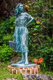 Vintage Sculpture Queens Park Royalty Free Stock Images