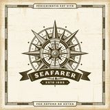 Vintage Seafarer Label Stock Photography