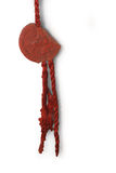 Vintage sealing wax stamp Stock Images