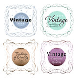 Vintage seals Royalty Free Stock Images