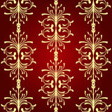 Vintage Seamless. Pattern. Vector illustration Royalty Free Stock Images