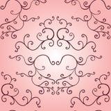 Vintage seamless. Pink wallpaper vector royalty free illustration