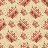 Vintage seamless background. royalty free illustration