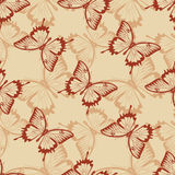 Vintage seamless background. Stock Images