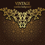 Vintage seamless background Royalty Free Stock Images