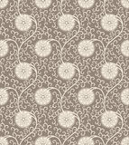 Vintage Seamless background pattern. Floral vintage seamless pattern for retro wallpapers Stock Photos