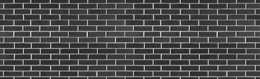 Vintage Seamless Black wash brick wall texture for design. Background for your text or image. stock images