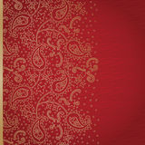 Vintage seamless border in Eastern style. Royalty Free Stock Images