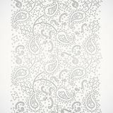 Vintage seamless border in Eastern style. Ornate vintage seamless border with lacy ornament. Persian style background. Place for your text. It can be used for Stock Photo