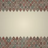 Vintage seamless border pattern Royalty Free Stock Images