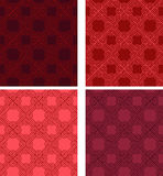 Vintage seamless colorful pattern vector backgrounds Royalty Free Stock Images