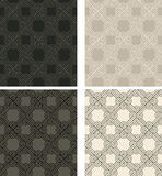 Vintage seamless colorful pattern vector backgrounds Royalty Free Stock Photography