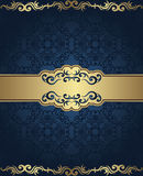 Vintage seamless damask background Stock Images