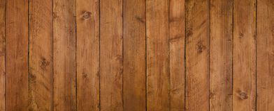 Vintage seamless dark wooden texture natural pattern. Panoramic background for your text or image. stock photo
