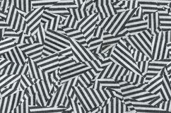 Vintage seamless diagonal strokes in black and white Stock Images