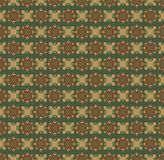 Vintage Seamless ethnic art background. Seamless ethnic art geometric pattern background retro colors Stock Photography