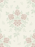 Vintage seamless floral background Stock Image