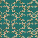 Vintage seamless floral background Royalty Free Stock Images