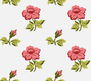 Vintage Seamless floral background Stock Photography