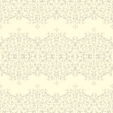 Vintage Seamless floral linen pattern Royalty Free Stock Photo