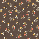 Vintage seamless floral pattern Stock Image