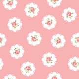 Vintage seamless floral pattern royalty free illustration