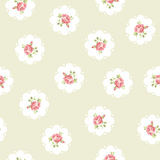 Vintage seamless floral pattern stock illustration