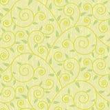Vintage seamless floral pattern Stock Photos