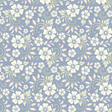 Vintage seamless floral pattern. Vector illustration. Royalty Free Stock Images