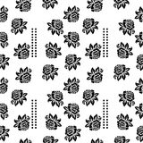 Vintage seamless floral pattern. Vector illustration. Royalty Free Stock Photo