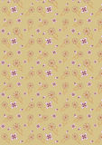 Vintage seamless flower wallpaper Royalty Free Stock Photography