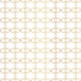 Vintage Seamless Gold Pattern Victoian Stock Image