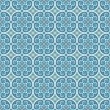 Vintage seamless monochrome geometrical pattern. Background Stock Photos