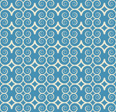 Vintage seamless monochrome geometrical pattern Royalty Free Stock Image