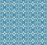 Vintage seamless monochrome geometrical pattern Royalty Free Stock Image
