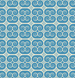 Vintage seamless monochrome geometrical pattern Royalty Free Stock Photo
