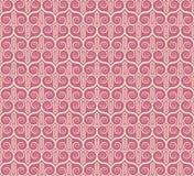 Vintage seamless monochrome geometrical pattern Stock Image