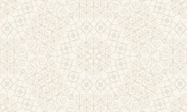 Vintage seamless monochrome geometrical pattern Stock Photos