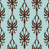 Vintage seamless pattern. Vector illustration Stock Images