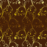 Vintage seamless pattern. Vector illustration Royalty Free Stock Image